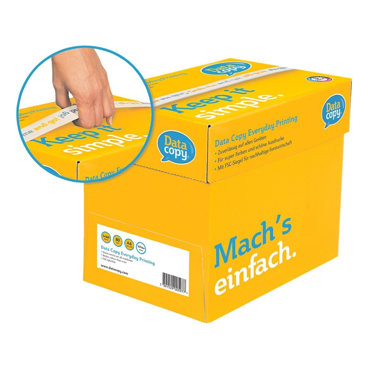 Data-Copy Grab & Go Box Multifunktionales Druckerpapier »Ever...