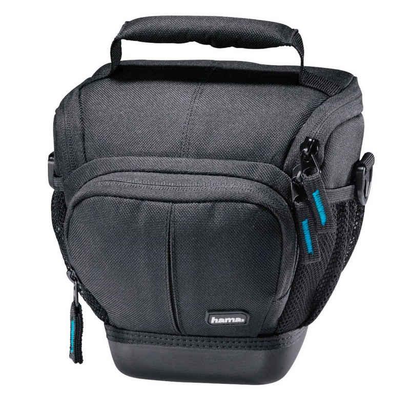 Hama Kameratasche »Kamera-Tasche Colt Universal für DSLR«, Inneneinteilung, Schultergurt, Tragegriff, Gürtel-Schlaufe, Seitentaschen, fester Boden