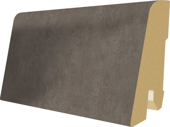 EGGER Sockelleiste »L468 - Chicago Concrete grau«, L: 240 cm, H: 6 cm