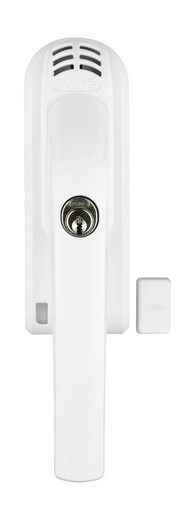 ABUS Alarmfenstergriff »FG300A W AL0125«, Din Links, abschließbarer Fenstergriff mit Alarm, weiß