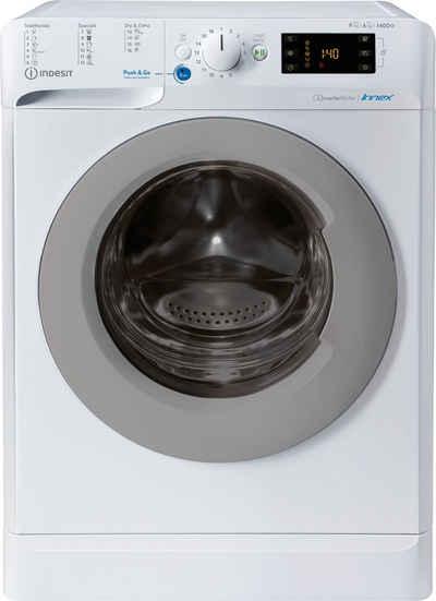 Indesit Waschtrockner BDE 961483X WS EU N, 9 kg, 6 kg, 1400 U/min