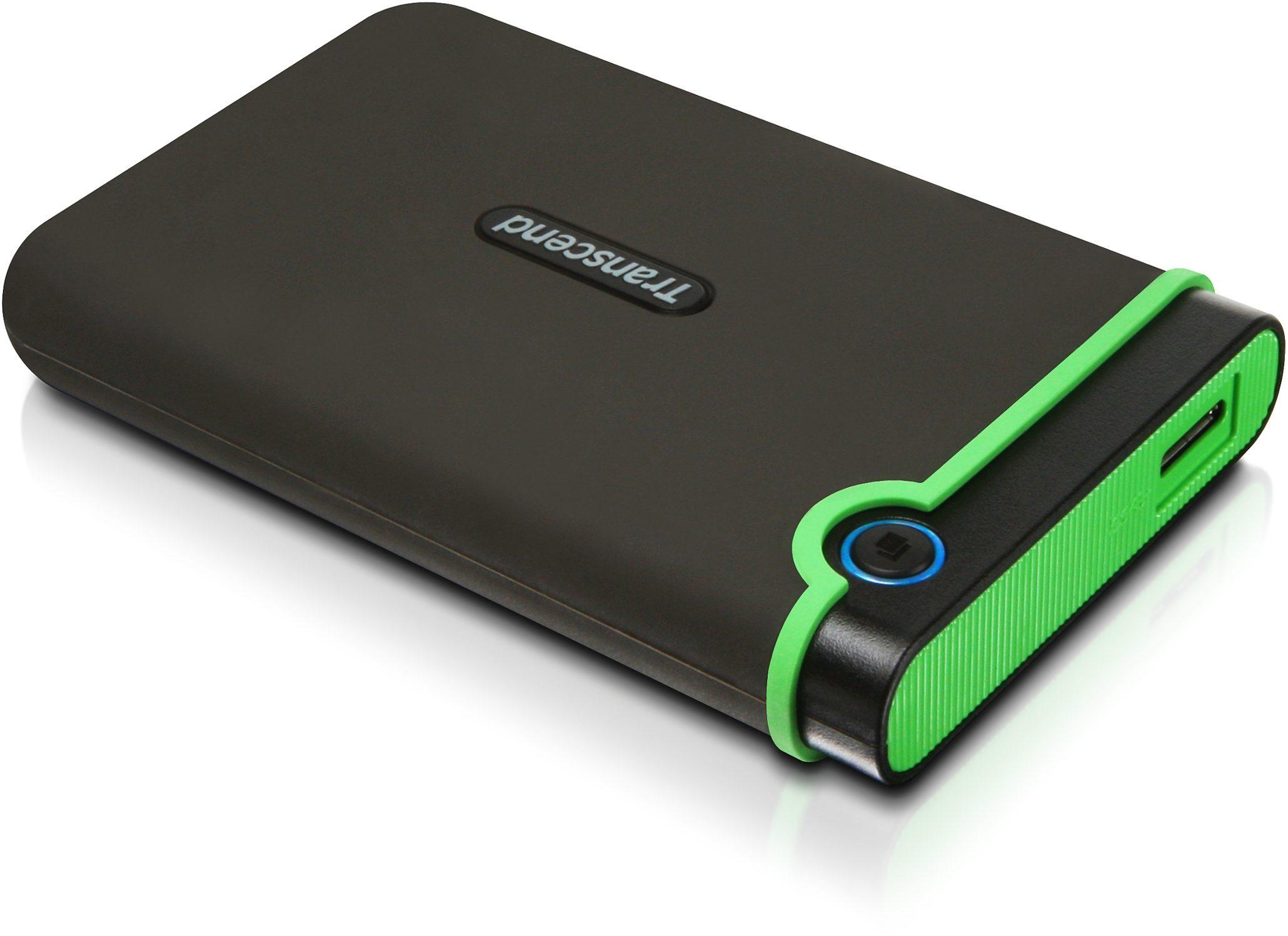 Transcend StoreJet 25 M3 Anti-Schock 1TB externe Festplatte, USB 3.0