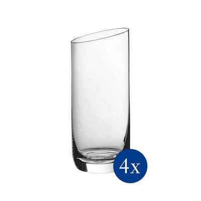 Villeroy & Boch Longdrinkglas »NewMoon Longdrinkbecher 4er Set«, Glas
