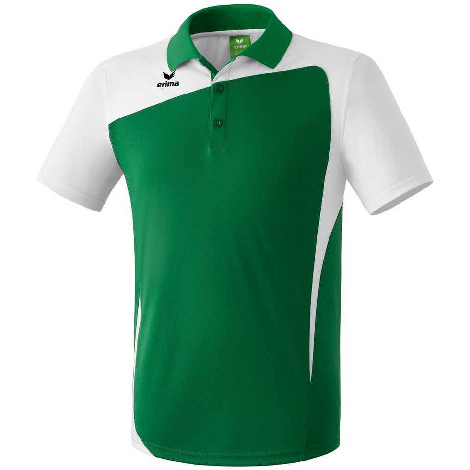 ERIMA CLUB 1900 Poloshirt Kinder in smaragd/weiß