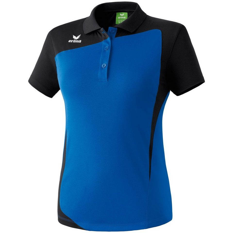 ERIMA CLUB 1900 Poloshirt Damen in new royal/schwarz