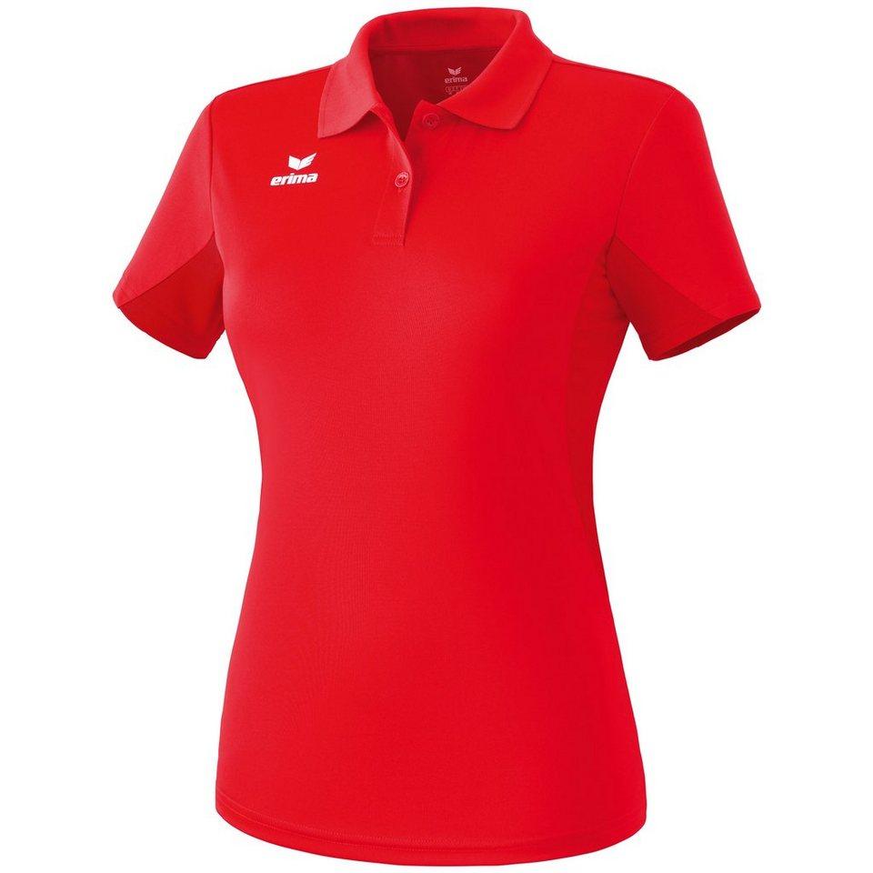 ERIMA Funktions-Poloshirt Damen in rot