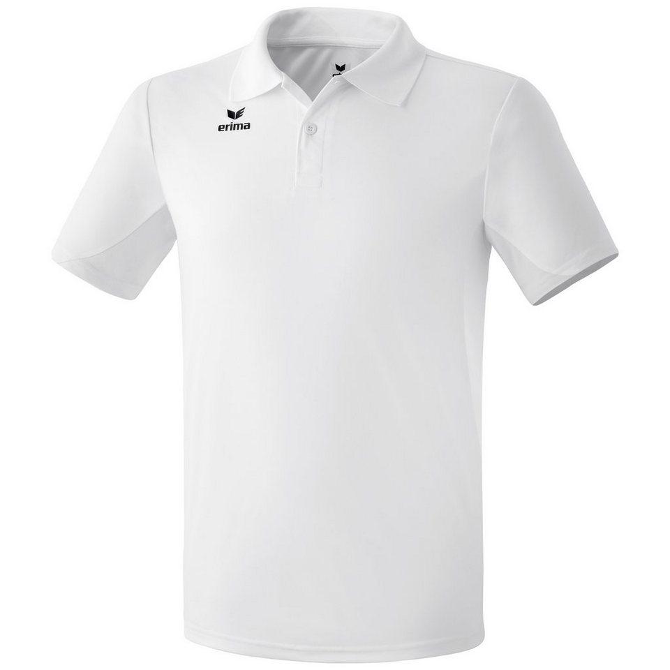 ERIMA Funktions-Poloshirt Herren in weiß
