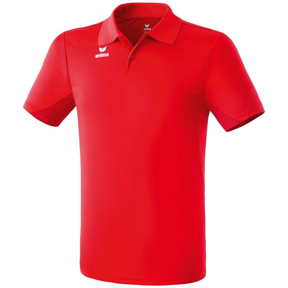 ERIMA Funktions-Poloshirt Kinder in rot