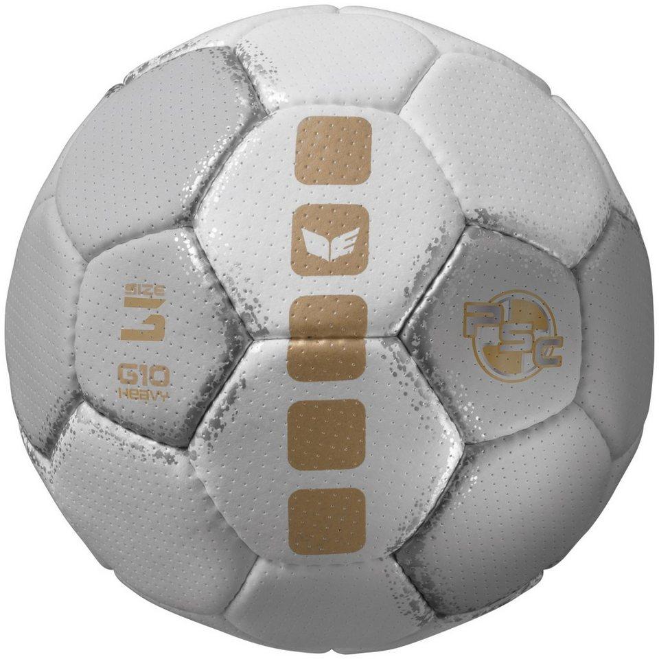 ERIMA Handball G10 Heavy Trainingsball in weiß/grau