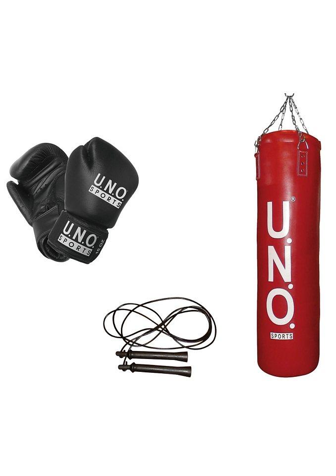 Boxset, U.N.O.-Sports®, »Smart« (3tlg.) in rot-schwarz