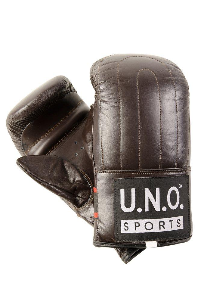 Boxhandschuh , U.N.O.-Sports®, »Ballhandschuh Bronx« in braun
