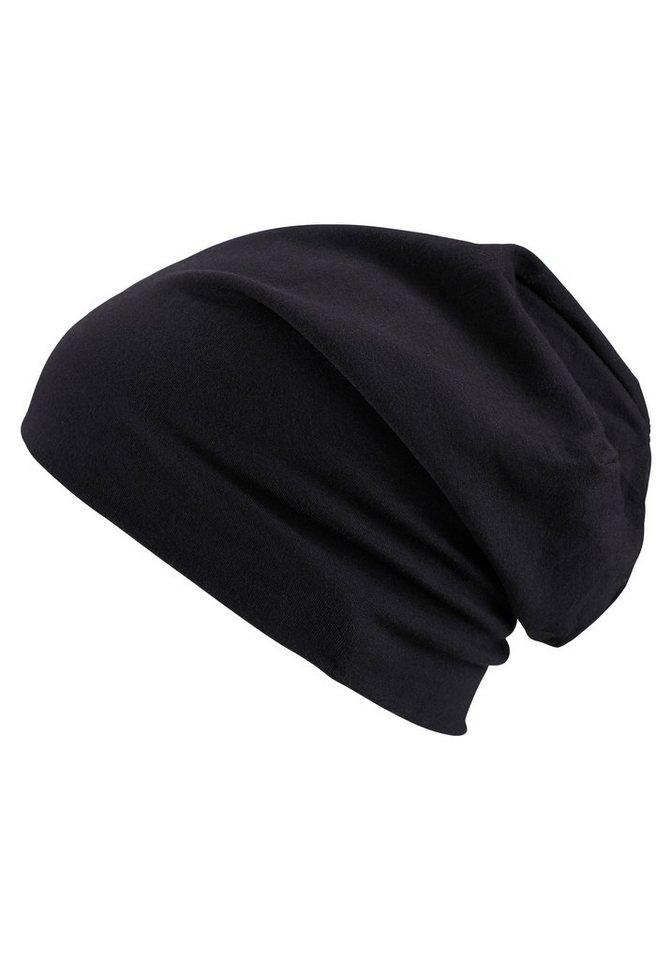 MasterDis Beanie für alle Basic-Outfits in schwarz