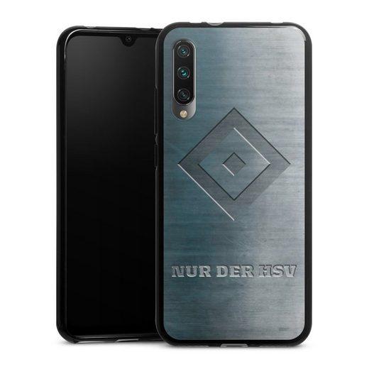 DeinDesign Handyhülle »Nur der HSV Metalllook« Xiaomi Mi A3, Hülle HSV Hamburger SV Metallic Look