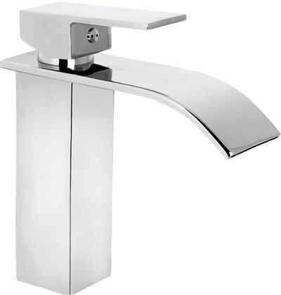 CORNAT Waschtischarmatur »WT EHM Wasserfall chrom« Schwall-Auslauf