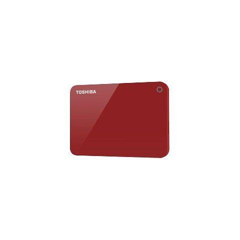 "Toshiba »Canvio Advance 2TB Red« externe HDD-Festplatte 2,5"" (2 TB)"