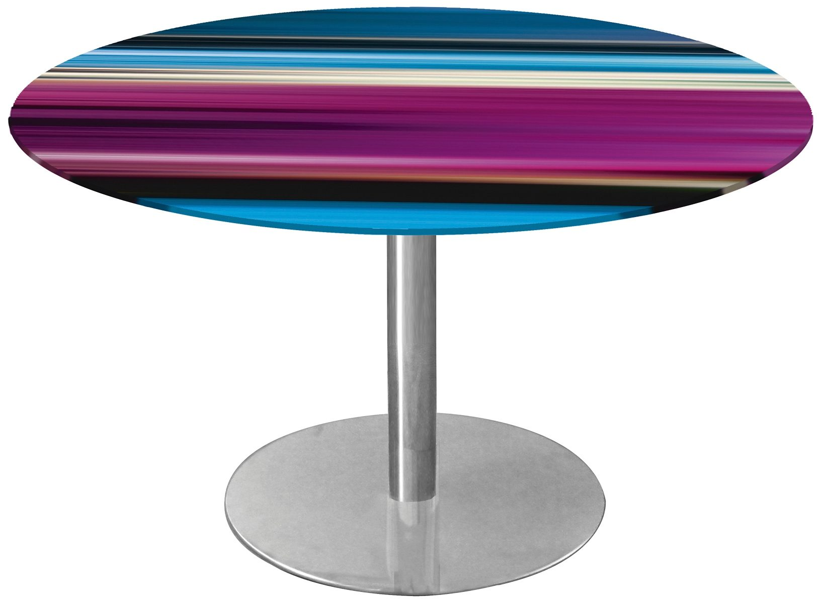 Home affaire, Tisch, »Blurred Figures«, Höhe: 72 cm