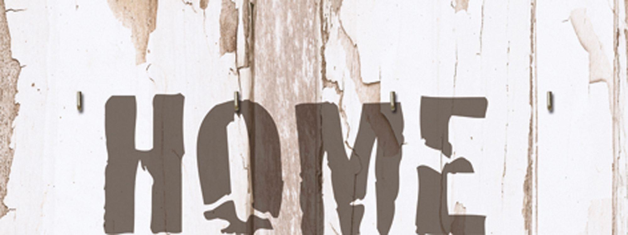 Home affaire, Schlüsselbrett, »HOME«, 40/15 cm