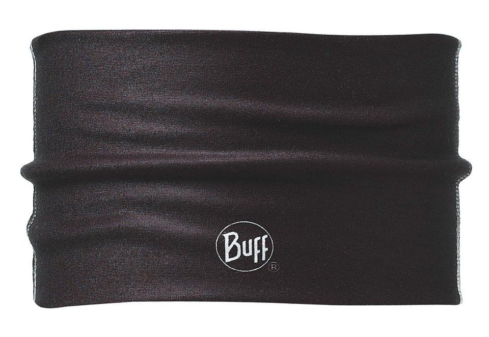 Stirnband, BUFF, »Stadi Black«, Headband Buff® aus Coolmax, schwarz in schwarz