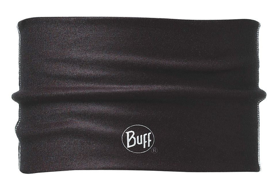 Stirnband, BUFF, »Stadi Black«, Headband Buff® aus Coolmax, schwarz