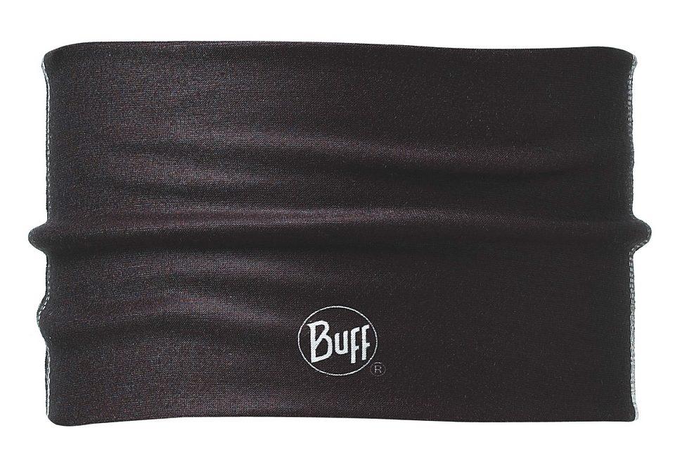 Stirnband, BUFF, »Stadi Black«, Headband Buff® aus Coolmax, schwarz