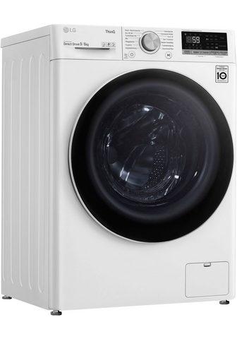 LG Skalbimo mašina-džiovyklė V5WD96TW0 9 ...