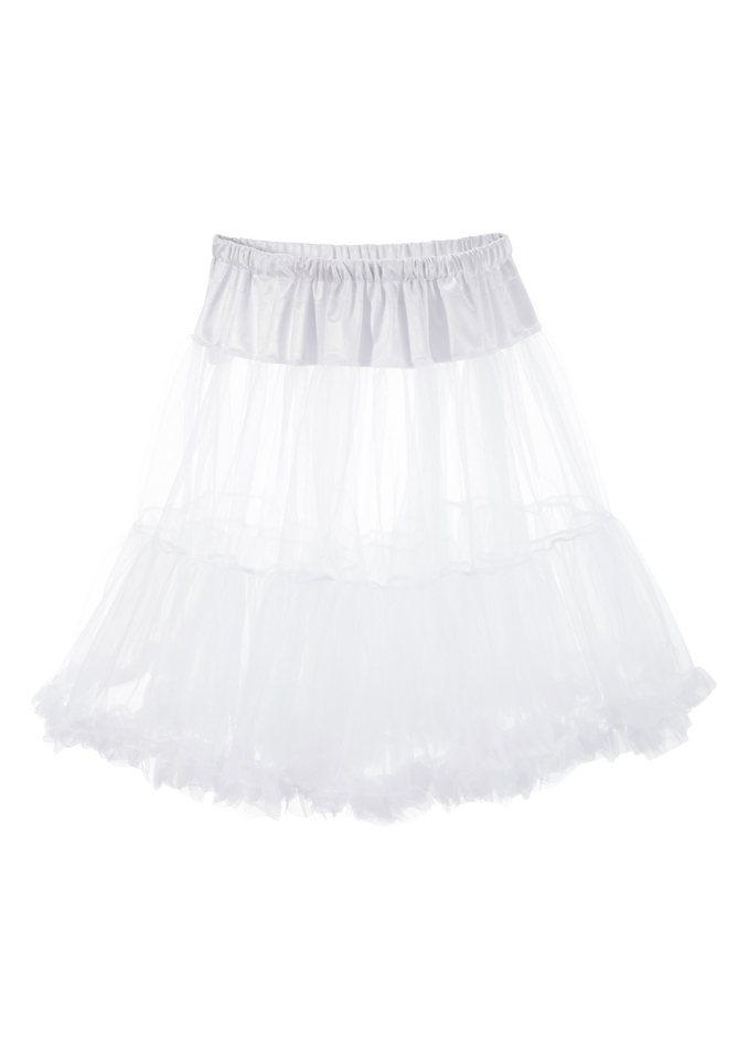 Petticoat Länge ca. 55 cm, Marjo in weiß