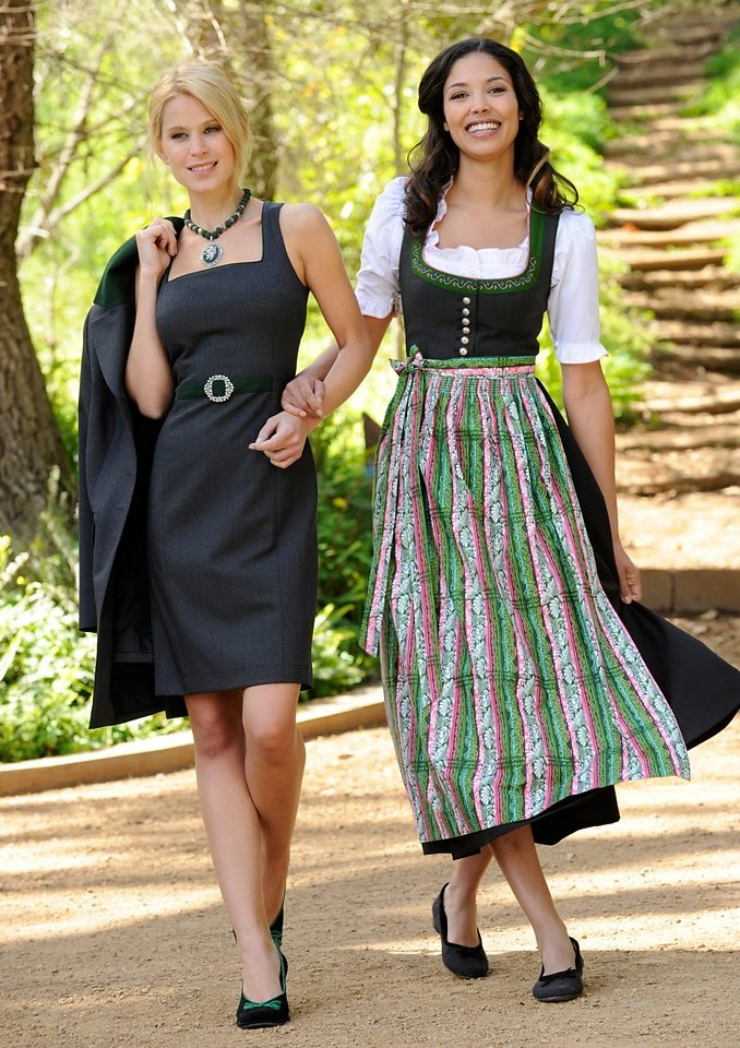 Im Kaufen Trachtenkleid Eleganten schnitt Damen Online Nature Etui Love mO0w8nvN