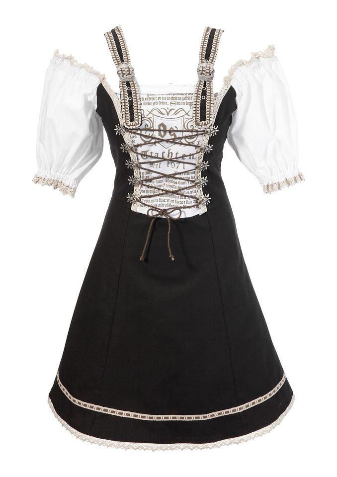 Kaufen Os Im Carmenlook trachten Trachtenkleid N0vnmw8