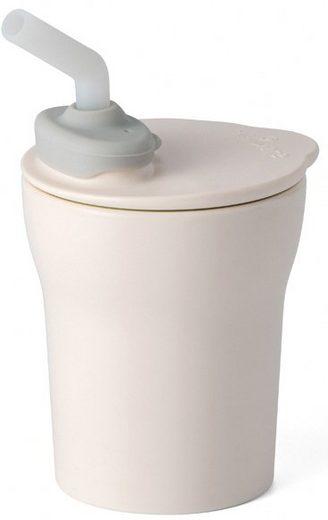 miniware Trinklernbecher »1-2-3 Sip! Cup«, Kunststoff, mit Trinkhalm