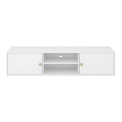 ebuy24 TV-Bank »Ursky TV Tisch 2 Türen und Ablage im offenen Raum,«