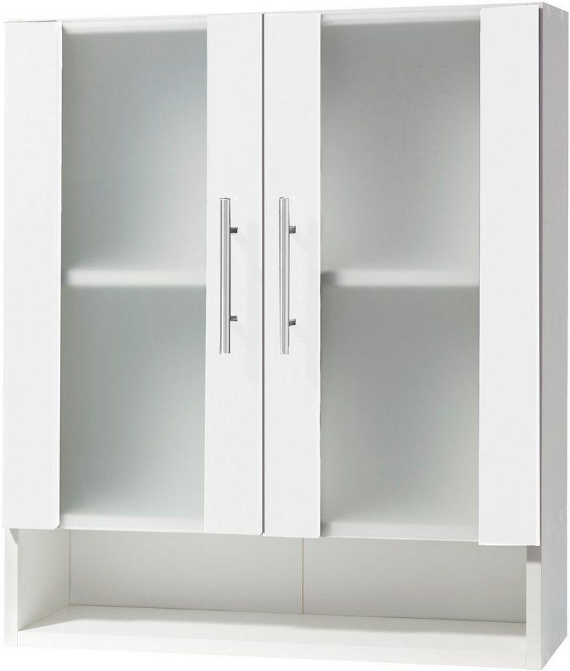 Hängeschrank, Schildmeyer, »Catania«, Breite 60 cm in weiß-weiß