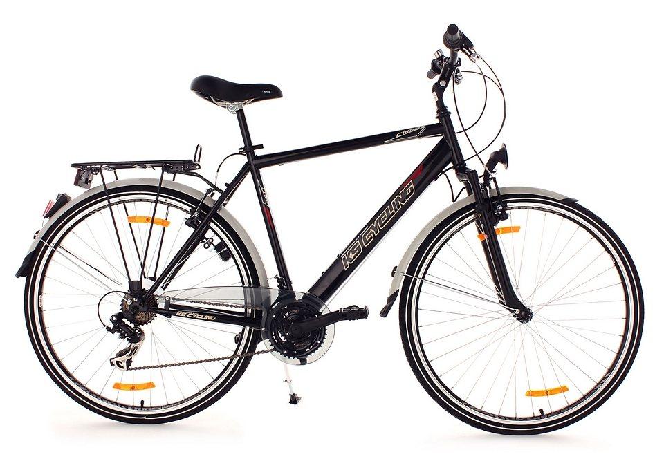 trekkingrad herren ks cycling clx flachlenker 28 zoll 21 gang shimano tourney alu v. Black Bedroom Furniture Sets. Home Design Ideas