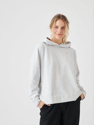 Cleptomanicx Kapuzensweatshirt »Embroidery Gull« mit Möwen-Stickerei auf der Brust