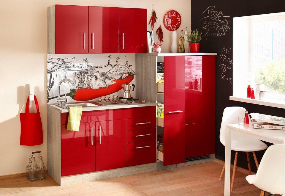 HELD MÖBEL Single-Küche »Toledo«, Breite 180 cm | OTTO