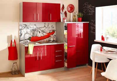 Kuchenzeile In Rot Online Kaufen Otto
