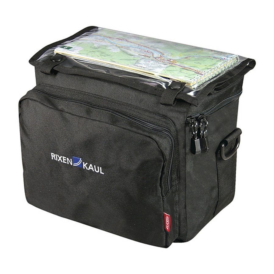 KlickFix Gepäckträgertasche »Daypack Box Lenkertasche schwarz«
