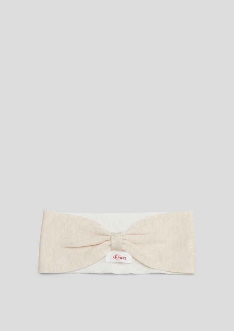 s.Oliver Stirnband »Stirnband mit Knoten-Detail« Knoten