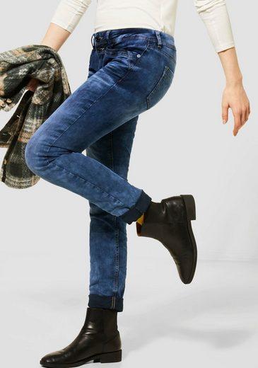 STREET ONE Skinny-fit-Jeans »Crissi« mit tollen Wascheffekten