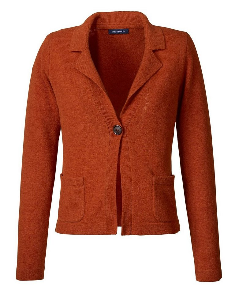 Highmoor Revers-Strickjacke