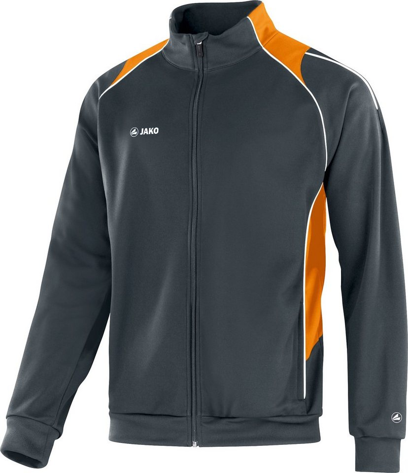 JAKO Trainingsjacke Attack 2.0 Herren in anthrazit/neonorange