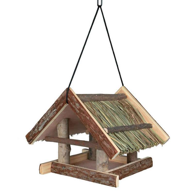 TRIXIE Vogelhaus »Vogelhäuschen Grasdach zum Aufhängen«