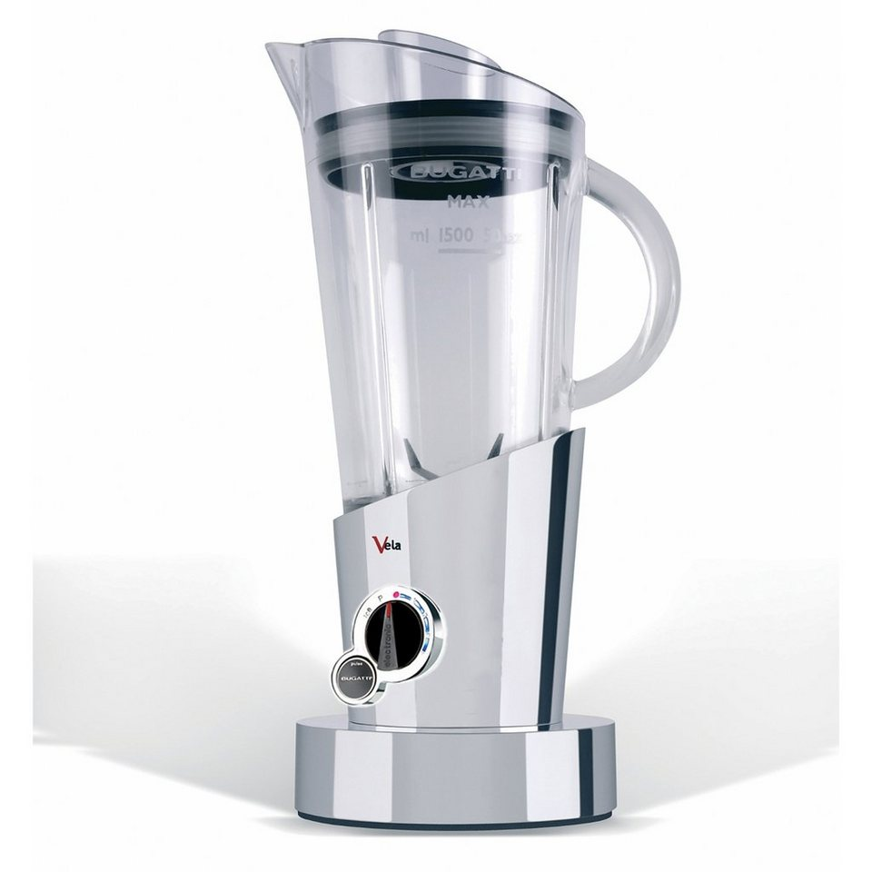 BUGATTI_TECHNIK Bugatti Standmixer VELA authentic chrom in Chrom
