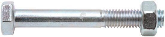 RAMSES Sechskantschraube, (Set, 25 St), M12x80 mm