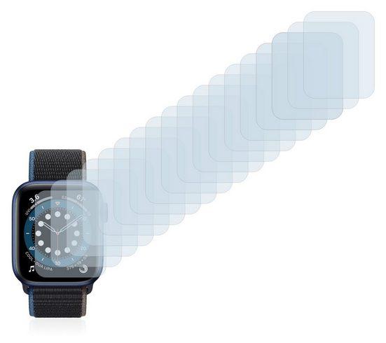 Savvies Schutzfolie »für Apple Watch Series 6 (44 mm)«, (18 Stück), Folie Schutzfolie klar