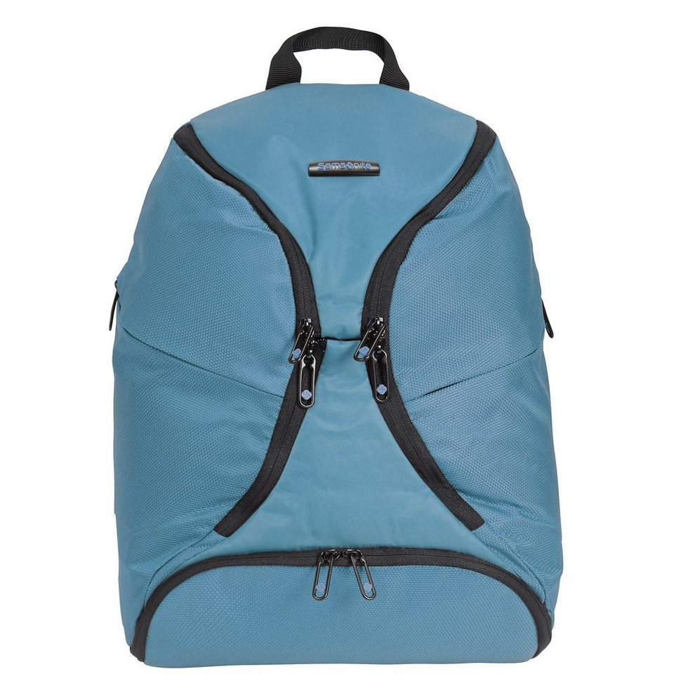 Samsonite Duo Plyer Rucksack 44 cm Laptopfach in sea blue