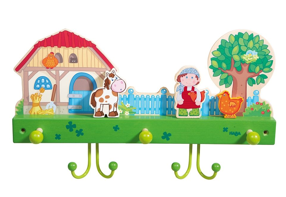 HABA® Kinder-Garderobe »Bauernhof«