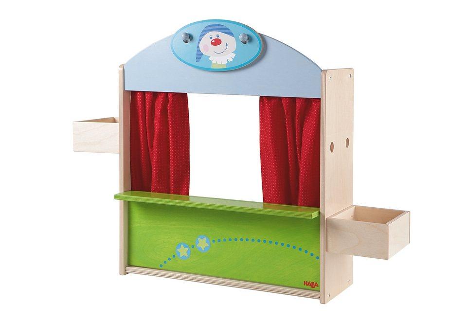 HABA®, Puppentheater und Kaufladen in bunt