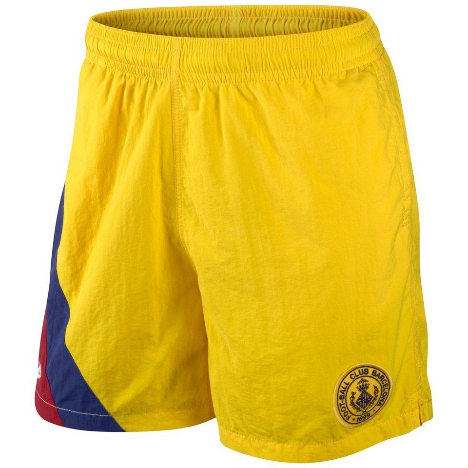 NIKE FC Barcelona Covert Team Trainingsshorts Herren in gelb / rot / blau