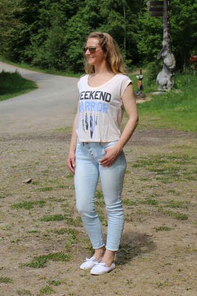 Buena Vista 7/8-Jeans »Malibu 7/8 stretch Twill blue stripe«
