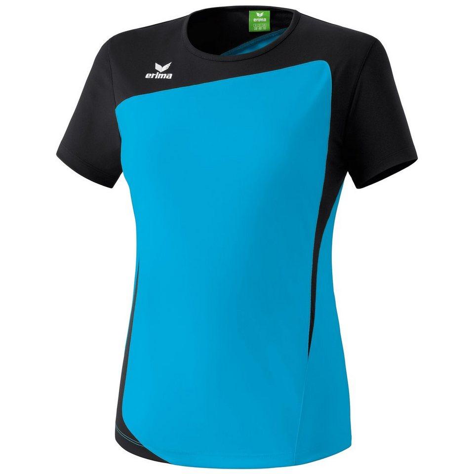 ERIMA CLUB 1900 T-Shirt Damen in curacao/schwarz